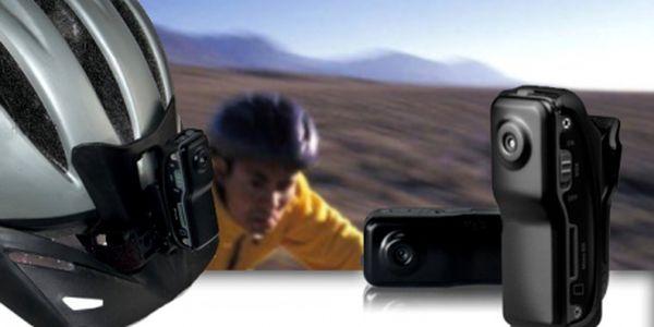 Jen za 449 Kč získáte mini kameru s veškerým příslušenstvím! Jedná se o velmi kvalitní kameru, kterou můžete použít jak doma, tak třeba při zimních sportech!