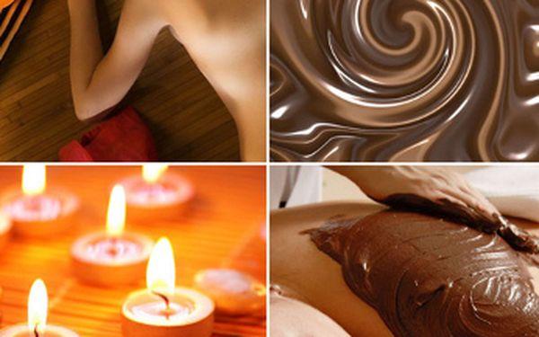 Čokoládový relax. Užijte si 30 minut infrasauny, 60 min čokoládová masáž a 30 minut čokoládový zábal + dárek za vyjímečnou cenu 555,- Kč. Zrelaxujte v rytmu čokolády v centru Vinohrad se slevou 75% !!