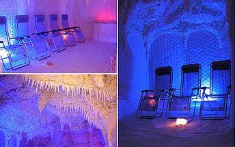 Zbavte se rýmy i stresu účinně. Jak? Návštěvou solné jeskyně! 50% sleva na vstup do léčivé solné jeskyně.