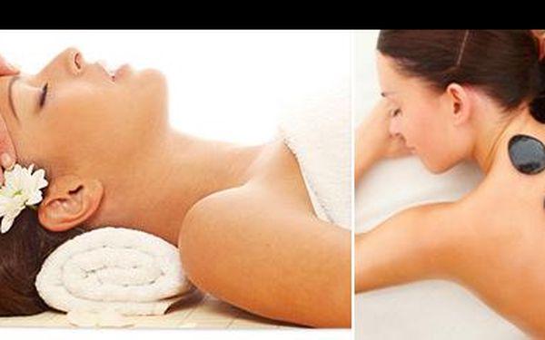 Dopřej si úžasný relax se 40% slevou! Jen za 480,- Kč si užiješ plných 100 minut rozmazlující péče v podobě masáže lávovými kameny a indické masáže hlavy!