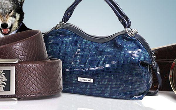 399 Kč za voucher v hodnotě 1000 Kč na luxusní zboží Septwolves. Designové kabelky, kožené peněženky, pásky a další doplňky se slevou 60 %.