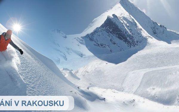 Jednodenní lyžovačka v RAKOUSKÝCH ALPÁCH s dopravou lůžkovým autobusem. Lyžování, které doma nezažijete. Vyražte se vyřádit se slevou 23%
