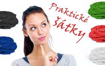 Neopakovatelných 36,-Kč za víceúčelový elastický šátek, který je vyroben ze 100% polyesterového elastického mikrovlákna! Je velmi dobře prodyšný! Dá se nosit jako čelenka, čepice, kukla, šátek na krk, potítko, maska, pirát a na mnoho dalších způsobů! Ideální nabídka pro podzimní počasí!