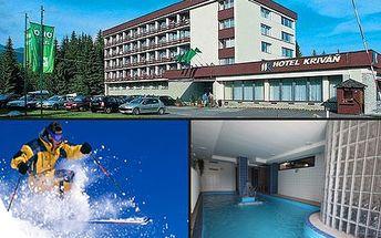 Horský WELLNESS pobyt pre 1 alebo 2 osoby na 3 alebo 5 dní v hoteli KRIVÁŇ! Teraz so zľavou až 50%! V cene plná penzia alebo polpenzia, neobmedzený vstup do bazéna, sauny, masáže a relaxačné procedúry podľa vášho výberu!