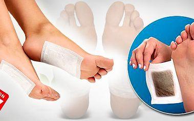 Skvělá novinka - domácí detoxikační kúra pro Vaše tělo! Detoxikační náplasti KINOKI jsou tou správnou cestou, jak se zbavit toxinů v klidu domova! Sada 10 kusů!!