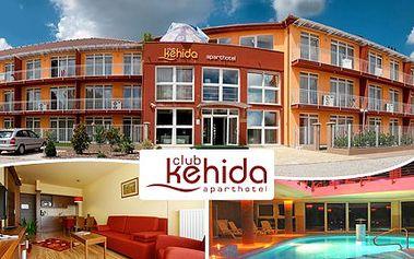 Relaxační wellness pobyt v luxusním hotelu, příjemně prospěje Vašemu tělu. 53% sleva na 2 noci pro 2 osoby se snídaní a wellness v hotelu Club Kehida Aparthotel**** v Maďarsku.