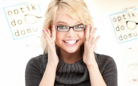 Přepadají Vás nepříjemné chvíle, kdy potřebujete dioptrické brýle? 40% sleva na kompletní dioptrické brýle Icona od profesionálů z OptikDoDomu.
