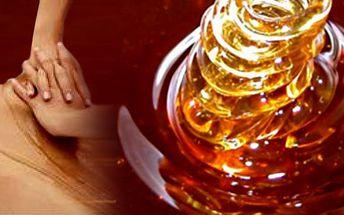 Medová masáž je to pravé pro Vaši pokožku. Sladký a příjemný odpočinek!