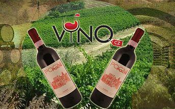 Dvě Vynikající toskánská vína Chianti DOCG Fattoria Pogni 2010! Výrazná ovocná vůně s tóny fialek předchází pěkně strukturované chuti!