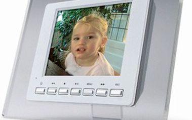 Moderní rámeček na digitální fotografie, pro přehrávání pohádek i filmů. Přehrávejte si fotografie bez počítače