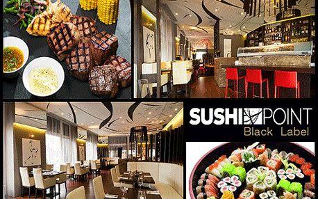 Talíř pro DVA plný jídla ze všech koutů světa v Sushi Point Dejvice!