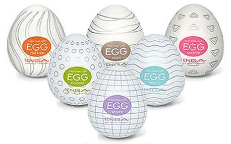 Revoluční novinka v říši pro dospělé – erotická pomůcka pro pány Tenga Egg s 57% slevou!