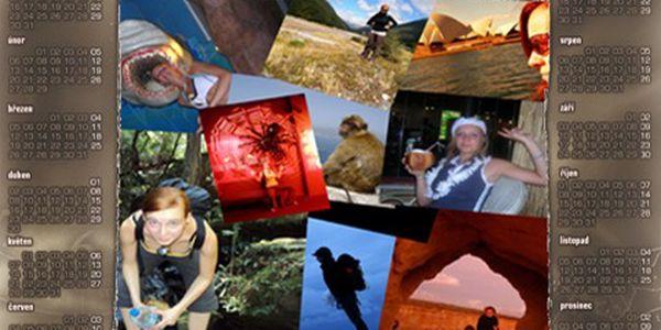 Nástěnný kalendář na rok 2012 s vámi vybranými fotkami a 50% slevou!
