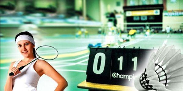 Badminton v centru Prahy ve známém hotelu Olšanka na krytých kurtech! Využijte super cenu 110 Kč za hodinu a užijte si tento oblíbený sport se slevou!