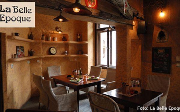 699 Kč za MENU PRO 2 V LA BELLE EPOQUE - argentinské hovězí menu plné lahodného masa. Našimi zákazníky ověřená stylová restaurace La Belle Epoque v rámci Festivalu masa!