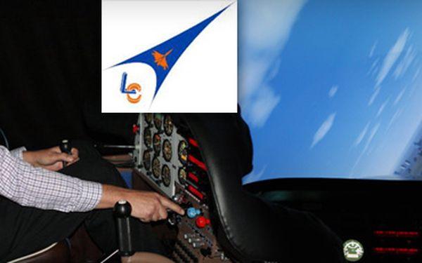 PILOTUJTE ZE ZEMĚ AKROBATICKÉ LETADLO!!! OVLÁDÁNÍ TRENAŽÉRU LETADLA Z242L již od 699 Kč!! Autentický zážitek z letu v bezpečí trenažérského kokpitu a pod dohledem profesionálního instruktora se slevou 45%!!! SKVĚLÝ VÁNOČNÍ DÁREK!!!
