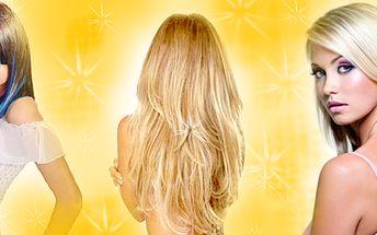Neopakovatelná cena 2100,- Kč za prodloužení a zhuštění vlasů.Používáme pouze pravé a kvalitní evropské vlasy, které budou co nejvíce identické s Vaší barvou a kvalitou vlasů! Dopřejte si parádní hřívu, kterou nemá jen tak někdo!Voucher obsahuje i kompletní kadeřnický servis!!!