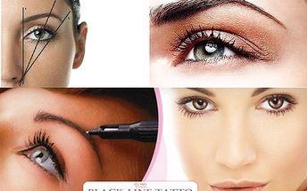Permanentní make-up obočí, rtů, nebo očních linek - jen 1290 Kč! Sleva 68% do studia Black Line Tattoo, na aplikaci permanentního make-upu. Svůdné oči přirozeného vzhledu, rty nebo obočí, díky radám a péči zkušených odborníků ze studia Black line Tattoo!
