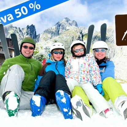 Užijte si sníh, výjimečný luxus a dokonalý relax v centru Vysokých Tater. Jen 4290 Kč za pobyt na dvě noci se snídaní a wellness v Hotelu Hills **** po 50% slevě.