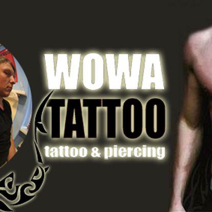 Jedinečná nabídka - velké tetování barevné nebo malé tetování černobílé se 40% slevou od tatéra s mnoha-letou zkušeností a nespočtem uměleckých děl!