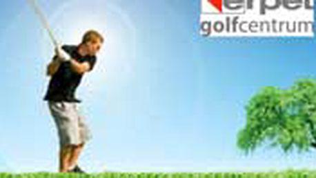 900 Kč místo 1750 Kč za golfovou hodinu pro DVA v hale Erpet Golf na Smíchově s profesionálním trenérem Davidem Tešným. JAko dárek dostanete krabici golfových míčů TOP FLITE !