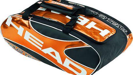 Universální sportovní taška HEAD za prostorných 748 Kč! Ideální na všechny sportovní aktivity včetně tenisu, squashe a badmintonu.