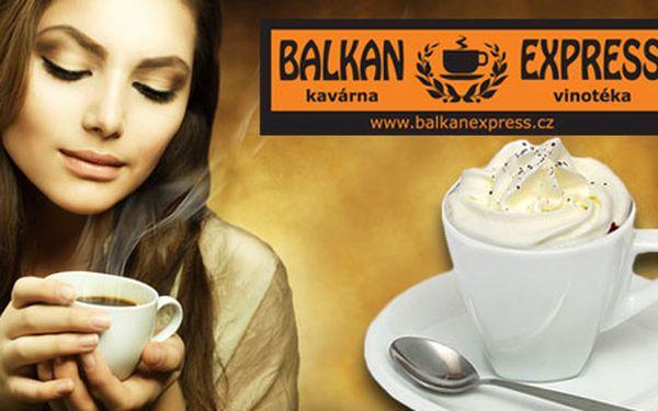 51 Kč za 2 horké nápoje v kavárně BalkanExpress. Zahřejte se během vánočních nákupů svařákem, punčem, kvalitní kávou nebo čajem. Na výběr mnoho druhů! Sleva 39 %.