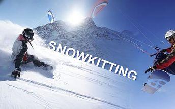 CELODENNÍ KURZ kitingu s mistry ČR v tomto sportu. Naučte se snowkiting a powerkiting jen za 845 Kč. Poznáte pravý adrenalin. Naučíte se teorii i jak prakticky ovládat draka. Nyní s 50 % slevou. Vhodné jako dárek.