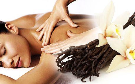 Relaxační masáž šíje a zad teplým olejem a vanilký peeling se solí z mrtvého moře, Vás během hodinky v těchto chladných, podzimních dnech příjemně naladí.