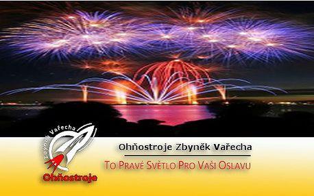 Silvestrovský ohňostroj vhodný i na drobné oslavy a večírky . Ohňostrojová show dodá Vaší oslavě nový rozměr.