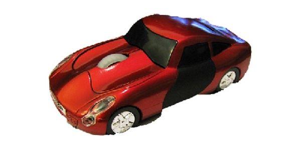Elegantní designová USB mini optická myš s designem auto jen za 230,-Kč + poštovné ZDARMA !!!