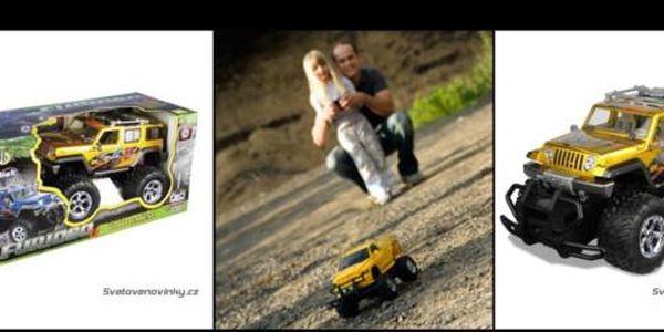 Překvapte děti pod stromečkem a nadělte jim RC model terénního Jeepu na dálkové ovládání za pouhých 990 Kč! Terénní Jeep na dálkové ovládání pořídíte se slevou 67 %!