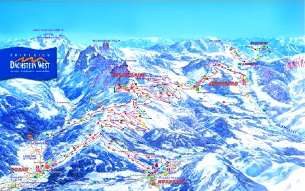 DACHSTEIN: 5 dní 2 osoby se snídaní - lyžování hned u hotelu v malebné krajině / Rakousko