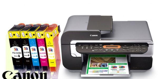 Trápí Vás vysoké ceny inkoustových náplní? Vyberte si cartridge za prima cenu Canon multipack 5+1 kus kompatibilních náplní pro tiskárny Canon za 199 Kč.