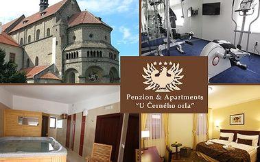 5denní pobyt pro DVA v 4*penzionu v Třebíči (UNESCO) s 60% slevou!