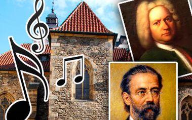 250 Kč za nezapomenutelný hudební zážitek v krásném prostředí kostela sv. Martina ve zdi a děl českých a světových skladatelů! To nejlepší z české a světové hudby - Smetana, Dvořák, Pachelbel, Bizet, Vivaldi, Bach, Mozart, Albinoni, Brahms! Exklusivní místa v prvním 3 řadách se slevou 59 %!