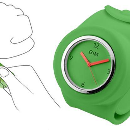 Hodinky SLAP jsou dnes velmi populární a módní silikonové hodinky! Kvalitní strojek Quartz! Bezkonkurenční cena!
