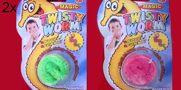 Hit pro děti - vyzkoušejte červíky - 2x Neposedný Červík - Originální hračka pro děti a hitovka letošního roku! Cena 99,-kč .
