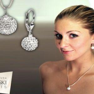 539 Kč za originální sadu šperků LUXUS BALL CRYSTALLIZED od firmy SWAROVSKI ELEMENTS. Získejte i Vy krásný doplněk k večerním šatům a oslňte všechny okolo Vás.