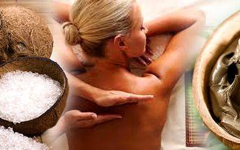 Uvolněte své smysly při kokosovém pelingu a následně prohřejte tělo při rašelinovém zábalu a masáži.Potěšte své tělo nebo darujte relax tomu koho máte rádi!!