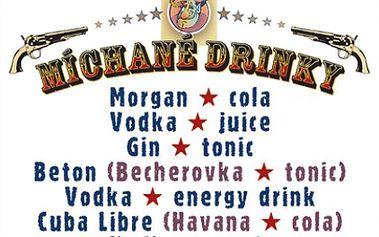 Pozvěte své přátele na 2 míchané drinky dle výběru za bezkonkurenční cenu 66 Kč! Úžasnou 50% slevu získáte v restauraci u Blekotů!