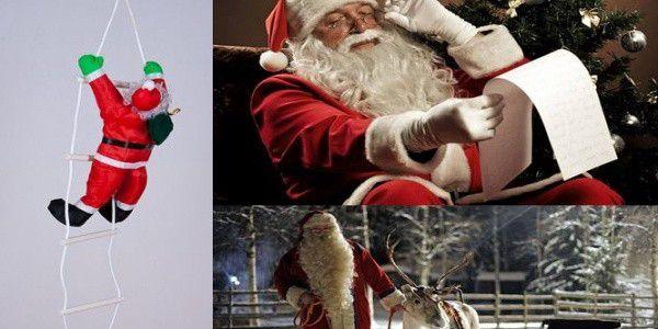 Nádherný vánoční Santa na žebříku. Přejete si, aby k Vám Santa vylezl oknem? Není nic jednoduššího než si pořídit tuto venkovní dekoraci.