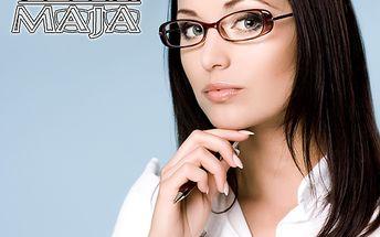Dárek pro vaše oči! Zbrusu nové brýle se slevou 50 %!