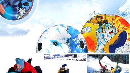Králem každé sjezdovky či kopce na sněžné svini s 50% slevou!