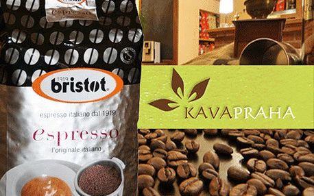 Kilo té nejlepší italské zrnkové kávy u vás doma a za skvělou cenu.