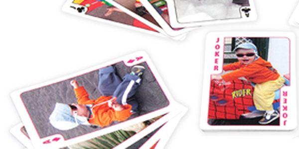 Jen 299 Kč za žolíkové karty s vlastními fotografiemi. Zaskočte kamarády originální hrou - ideální dárek pod stromeček se slevou 39 %