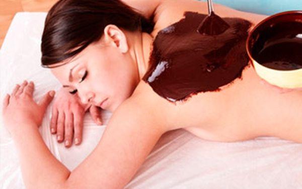 Úžasných 375,- Kč za čokoládovou masáž v délce 60 minut. Vánoční čokoládové pokušení (masáž zad, zábal, peeling) se slevou 50%.