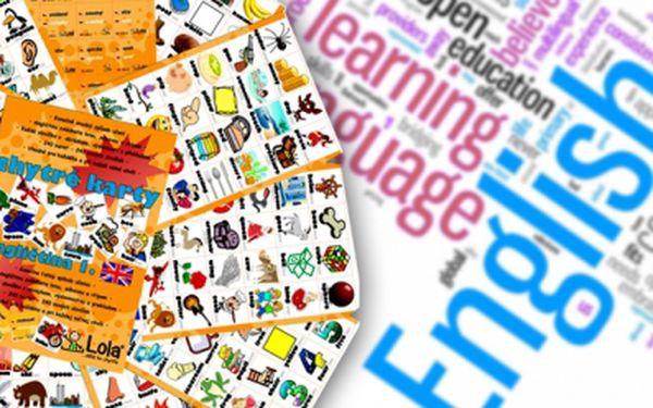 Chytrá Lola Vám přináší výukové kartičky angličtiny! Máte již 1. Díl? Kupte si novou edici 2. část. 240 chytrých karet s překlady a výslovností za pouhých 87 Kč! Učení nikdy nebylo tak jednoduché!