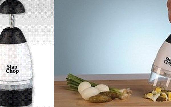 RUČNÍ KRÁJEČ Slap Chop za pouhých 169Kč. Cibule i další zelenina nakrájená bez pláče a během několika sekund, se slevou 41%!