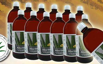 Akční balení Bio Aloe Vera 99,6% 5+1 litr grátis se všemi certifikáty!! Starejte se o své zdraví jak nejlépe to jen jde!! Zasíláme do celé ČR!!